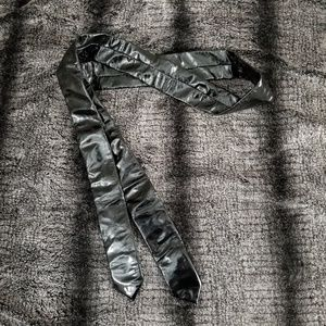 Accessories - **2 for $10 sale** Black vinyl tie